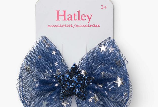 Hatley - Midnight Sky Stars Hair Clip