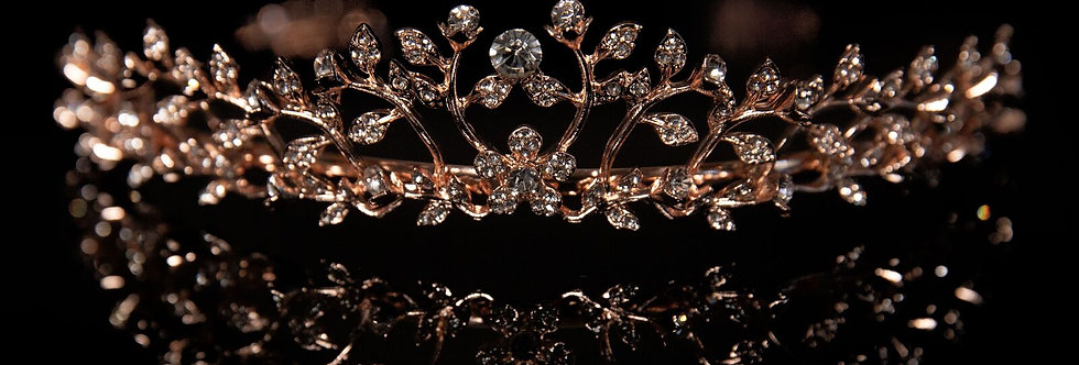 Mad Ally - Mad Ally Large Alyssa Tiara Rose Gold