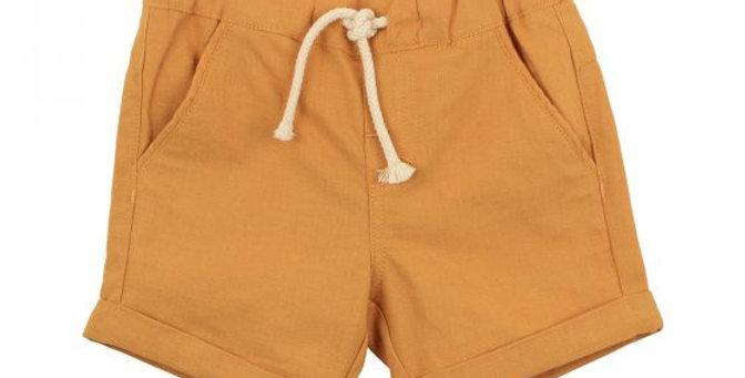Mini Haha - FOX & FINCH Rahh Woven Yellow Woven Short