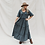 Thumbnail: Halo & Horns - Woman Charlee Maxi Dress   Charcoal Luxe