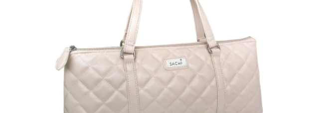 Sachi Insulated Wine Purse - Quilted