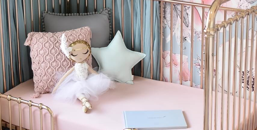 Snuggle Hunny - Lullaby Pink I Fitted Cot Sheet