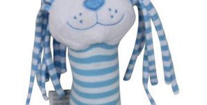 Es Kids - Lion Stick Rattle Blue Stripe