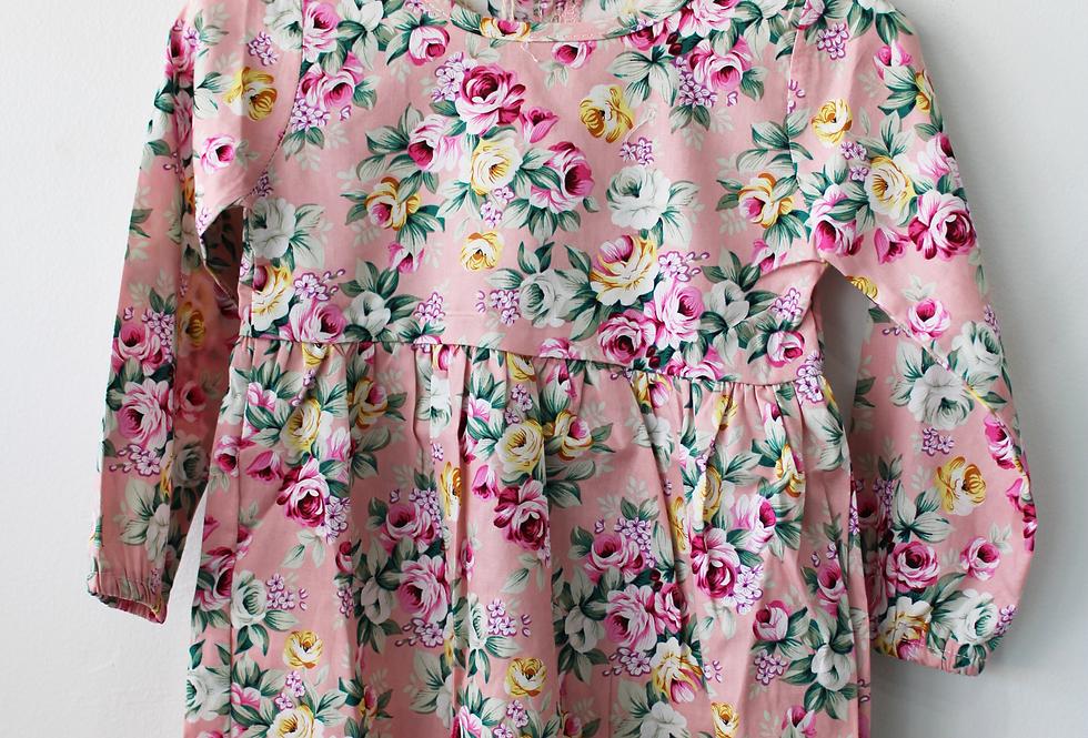 Sweet Pea - Long Sleeve Floral Dress
