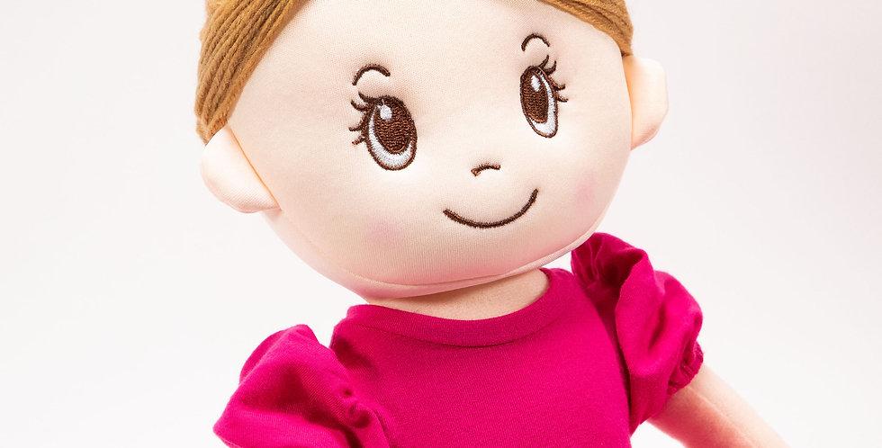 Mad Ally - Mad Ally Ballerina Indi Doll - Raspberry
