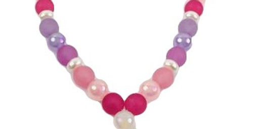 Sweet As Sugar Jewellery - White Heart Beaded Necklace