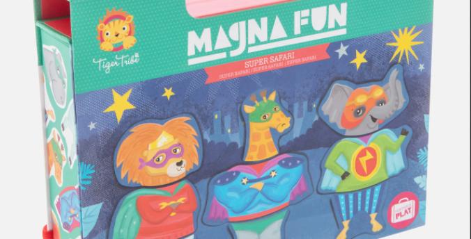 Tiger Tribe - Magna Fun - Super Safari