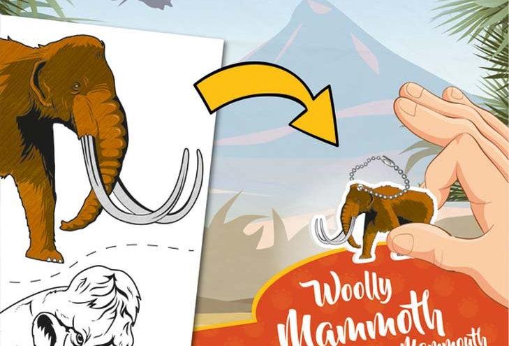 Keycraft - Woolly Mammoth Shrinkles Slim Pack