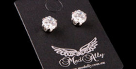 Mad Ally - Diamante Earrings 6mm