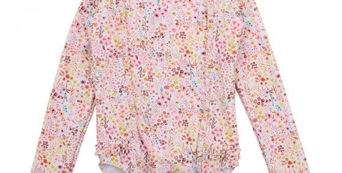 Mini Haha - Ruby LS Lace Swimsuit