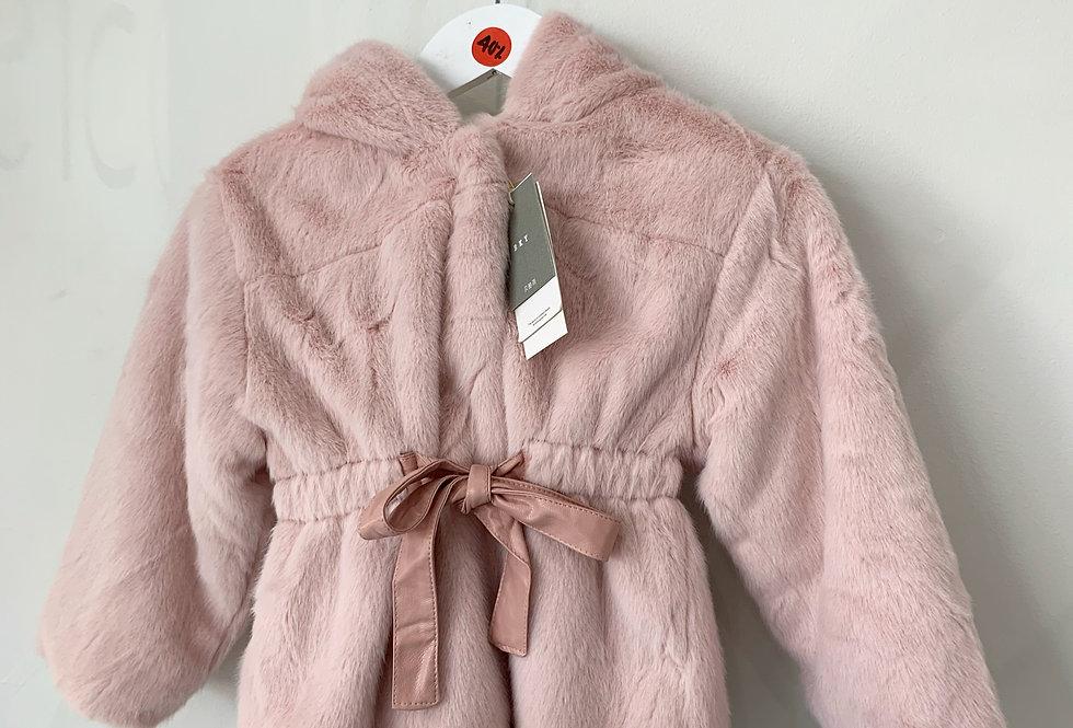Sweet Pea - Two Tone Fluffy Coat