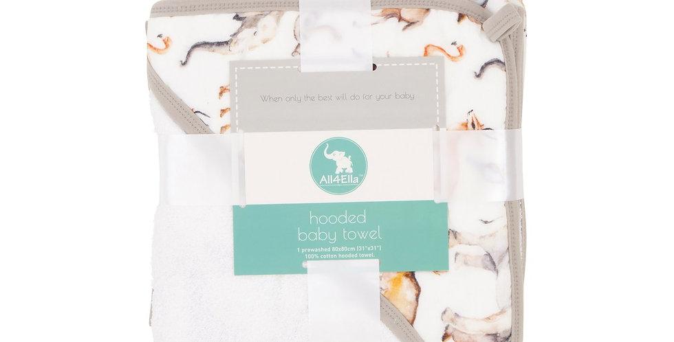 All4Ella - Hooded Towel - Animal