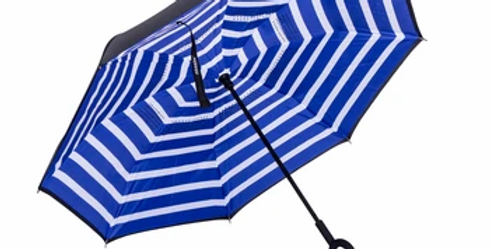 All4Ella -  Stripped  Adult Umbrella