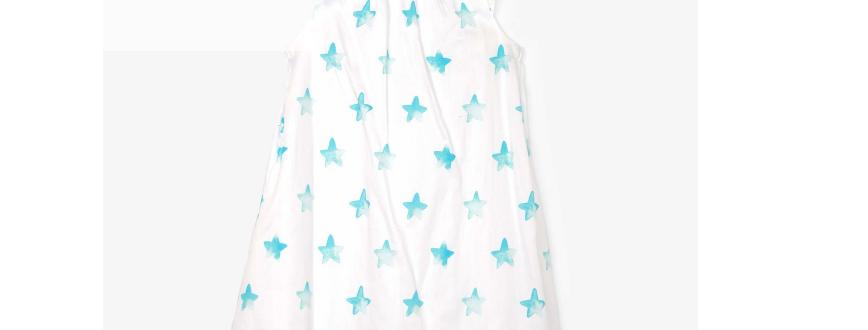 Hatley - Painted Stars Bow Back Dress