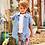 Thumbnail: Hatley - Chambray Anchors Short Sleeve Button Down Shirt
