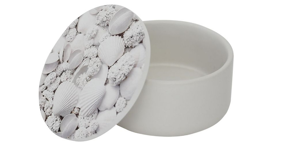 Splosh - Coastal Small Round Trinket Box
