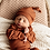 Thumbnail: Snuggle Hunny - Ribbed Knotted Beanie | Biscuit