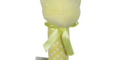 Es Kids - Hippo Stick Rattle Yellow