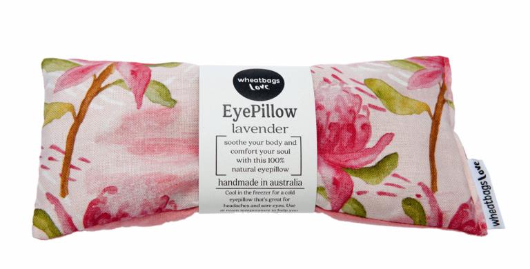 Wheat Bag Love - Eye Pillow Waratah