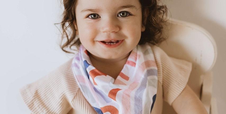 Snuggle Hunny - Rainbow Baby  Dribble Bib
