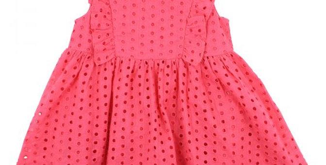 Mini Haha  - BÉBÉ  Isla Broiderie Dress