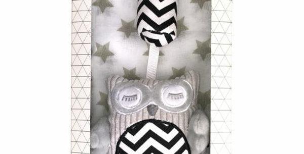 Es Kids - Gift Box Chime Muslin Grey
