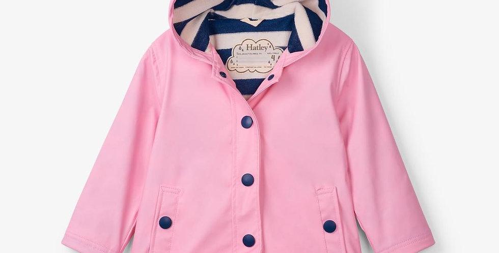 Hatley - Classic Pink and Navy Splash Jacket