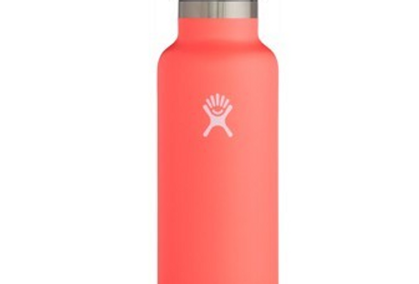Hydro Flask - Standard Mouth Bottle - Flex Cap Double Insulated - Hibiscus 621ml