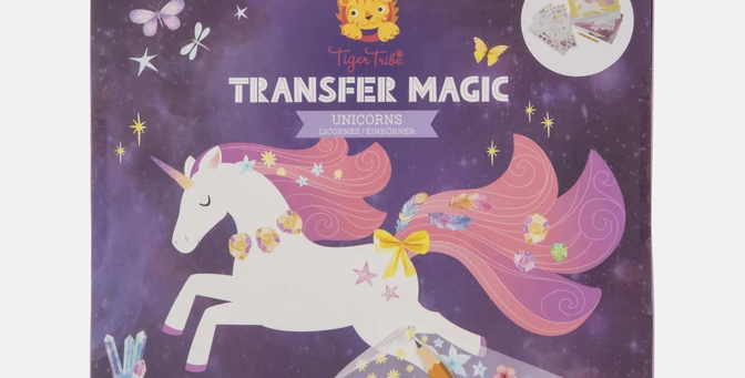 Tiger Tribe - Transfer Magic Unicorns