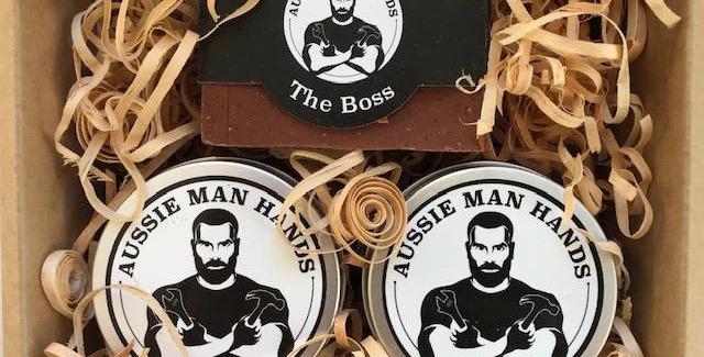 Aussie Man Hands - Hands Cream Gift Pack