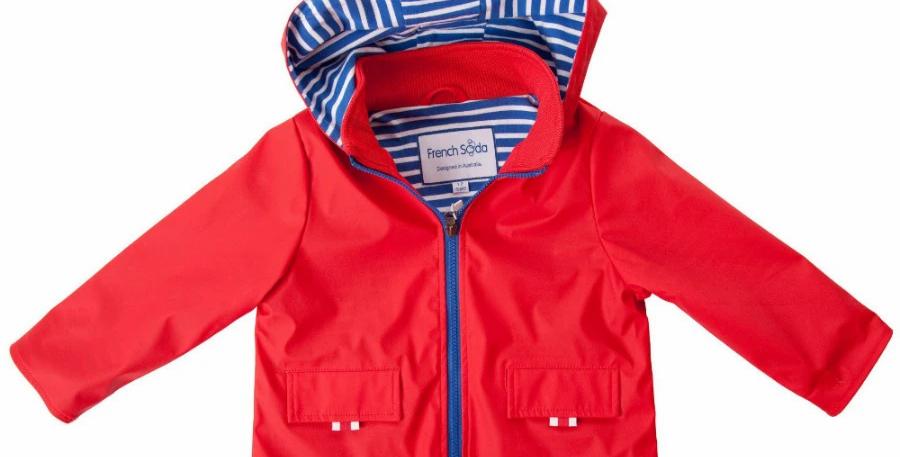 French Soda -  Red Teddie Raincoat