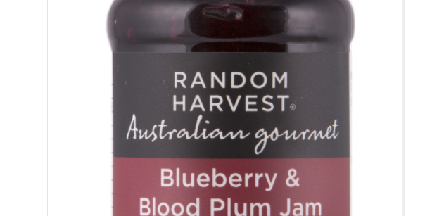 Random Harvest - Blueberry & Blood Plum Jam 60g