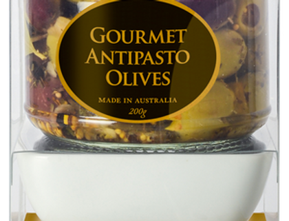 OGILVIE & CO - Dipping Bowl Set - Antipasto Olives 200g