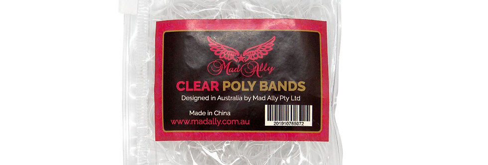 Mad Ally - Clear Poly Bands