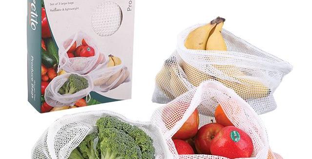 Appetito - Woven Net Produce Bag
