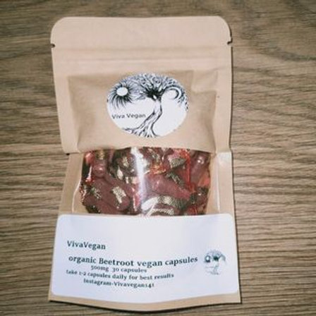 Organic Beetroot Capsules