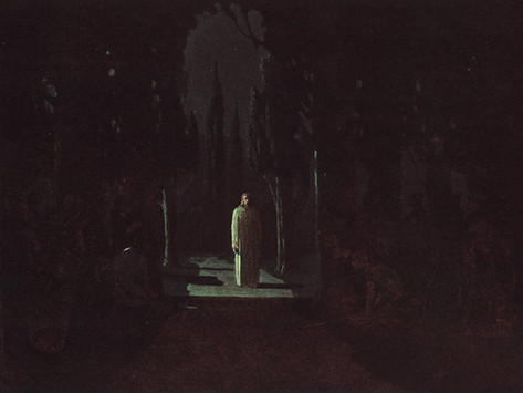 Sermon for Maundy Thursday. The Agony in the garden of Gethsemane.