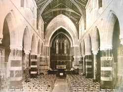 All Saints' after completion, late 1880s.