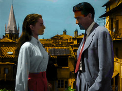"""All Saints' featuring in """"Roman Holiday"""" with Audrey Hepburn and Gregory Peck."""