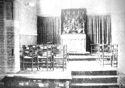 The Lady Chapel, Easter Sunday, 1925.