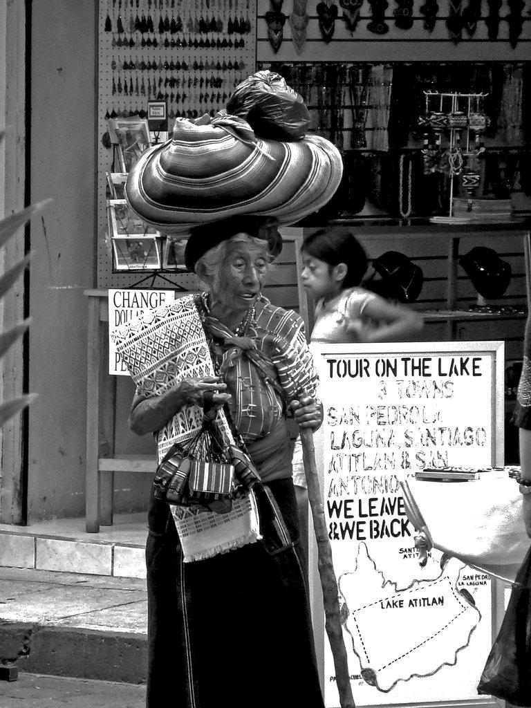 Old Lady, Guatemala