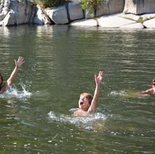 Ardeche - zwemmen