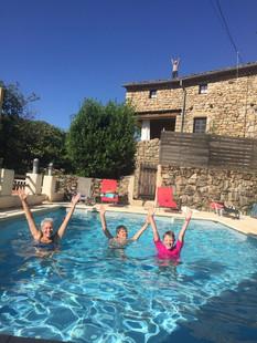 zwembad Mas le Braud