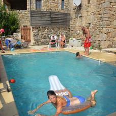 zwemmen in de Ardeche