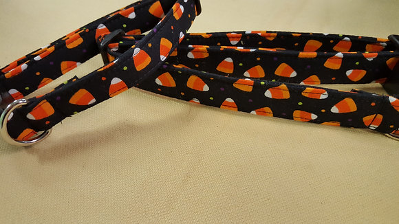 Halloween Candy Corn Buckle Collar