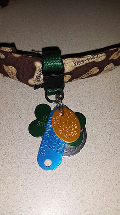 Dog ID Tag Holders / Clip - Buckle Style