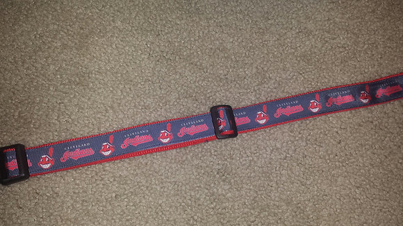 Cleveland Indians - Blue Buckle Collar