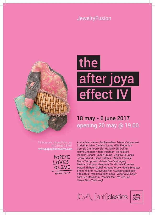The after Joya effect IV at Popeye Loves Olive Gallery in Athens. 18th may until 6th june