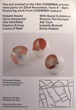 COSMIMA exhibition in LONDON