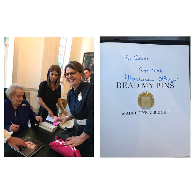 An evening to remember with Madeleine Albright